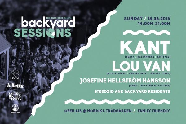 Backyard Sessions Malmö KANT Lou van Josefine Hellström Hansson