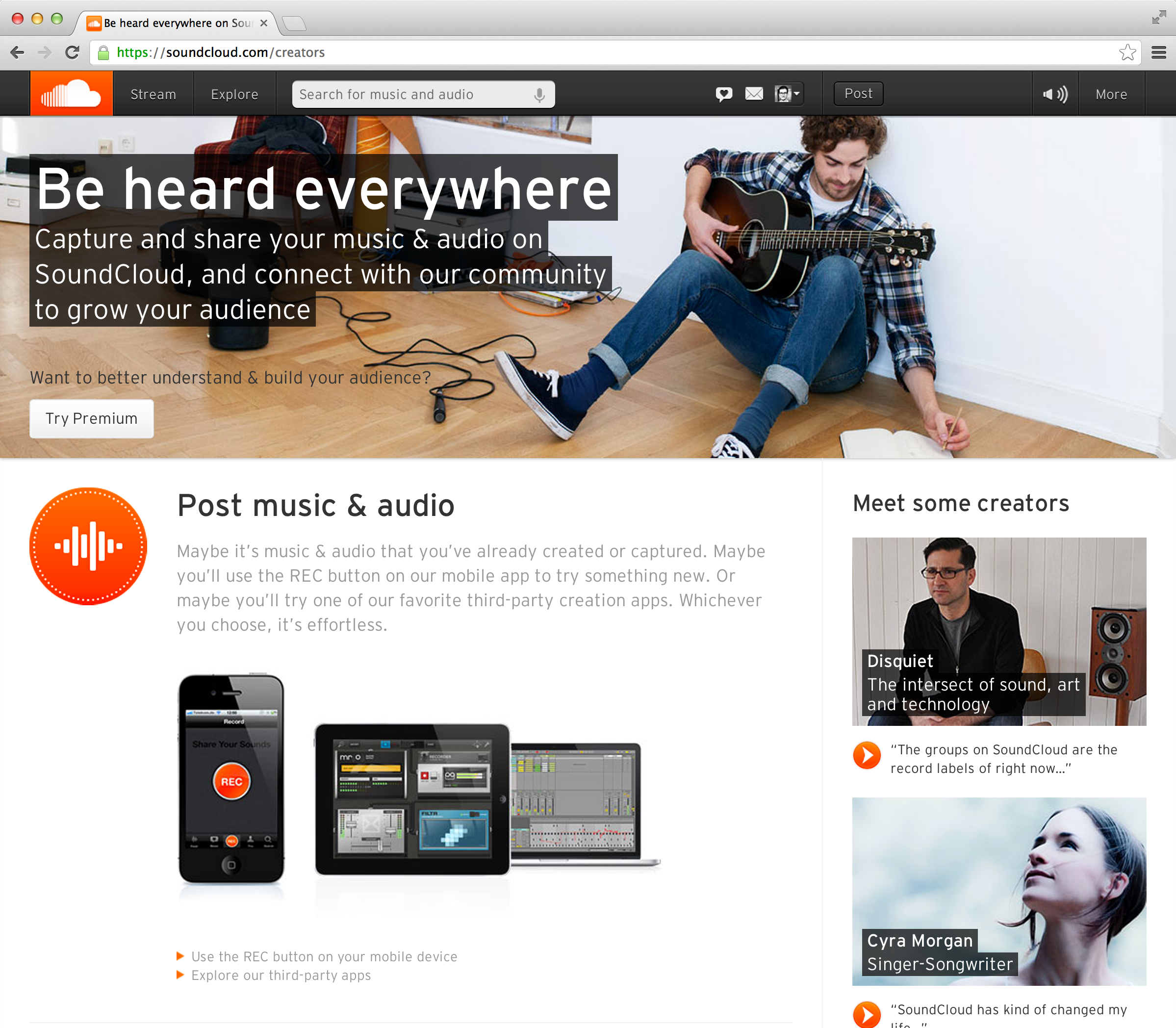How to promote your music on Soundcloud getting more