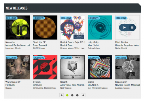 Beatport featured exclusive