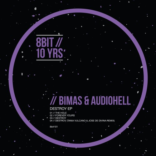 Bimas & Audiohell Destroy_ep_artwork 8bit